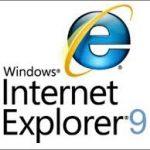 Internet Explorer は動作を停止しました IE9